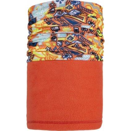 Dětský šátek KILPI Minion-j růžová