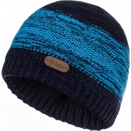 Pánská pletená čepice KILPI Merido-m tmavě modrá
