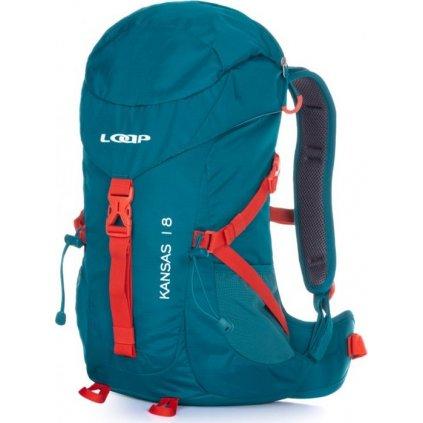 Turistický batoh LOAP Kansas 18 modrá