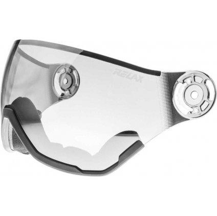 Náhradní štít k helmě RELAX RH28 šedý