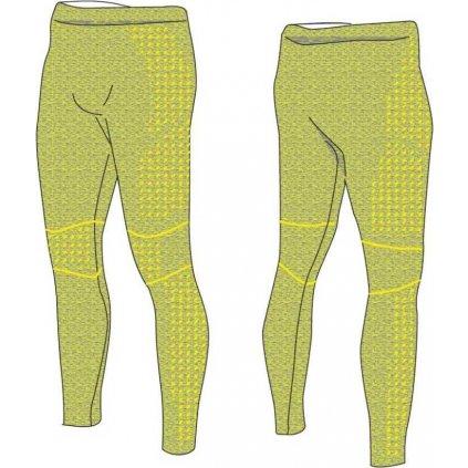 Pánské funkční kalhoty R2 zelené