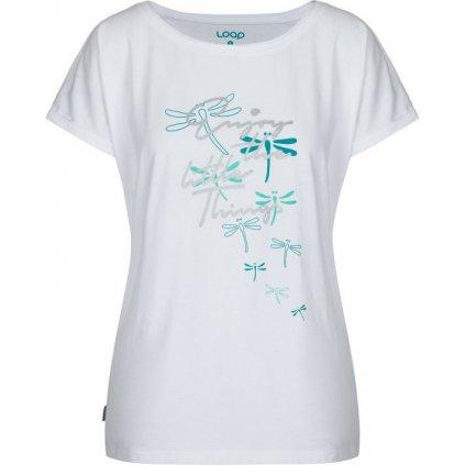 Dámské triko LOAP Adlia bílé