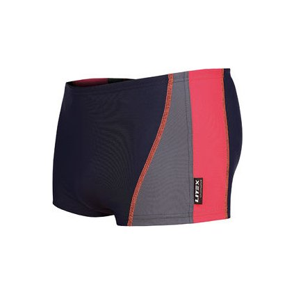 Pánské plavky boxerky LITEX modré