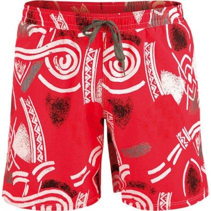 Pánské koupací šortky LITEX červené