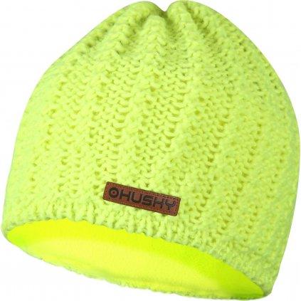 Dámská čepice HUSKY Cap 30 neon žlutá
