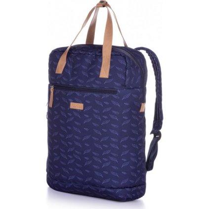 Dámský městský batoh LOAP Reina modrý