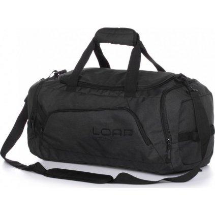 Sportovní taška přes rameno LOAP Pensa šedá