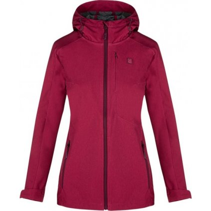 Dámská softshellová bunda LOAP Lavina růžová