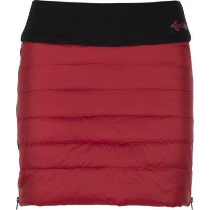 Dámská zateplená sukně KILPI Matira-w červená
