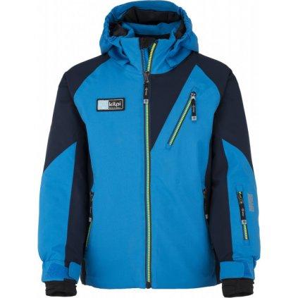 Chlapecká lyžařská bunda KILPI Garney-jb modrá