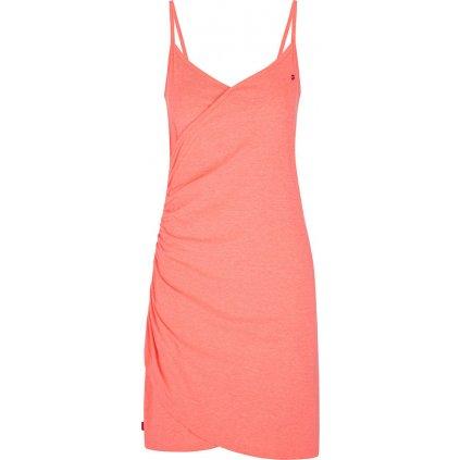 Dámské sportovní šaty LOAP Adrea růžové