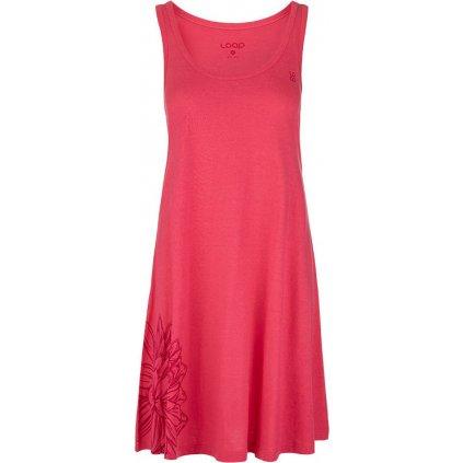 Dámské sportovní šaty LOAP Astris růžové