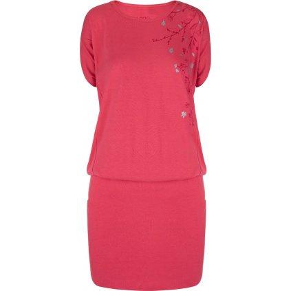 Dámské sportovní šaty LOAP Aslana růžové
