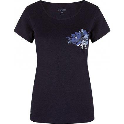 Dámské triko LOAP Astraia modré