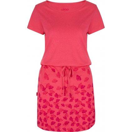 Dámské sportovní šaty LOAP Ascala růžové