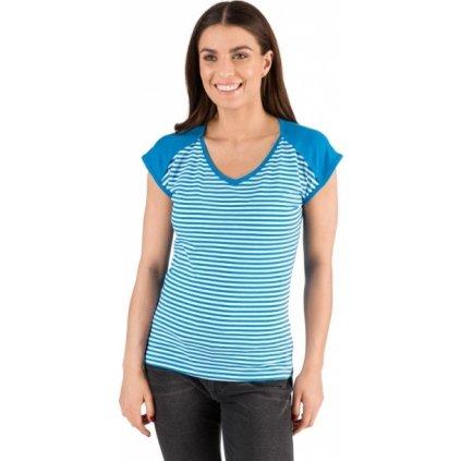 Dámské triko SAM 73 s krátkým rukávem modré