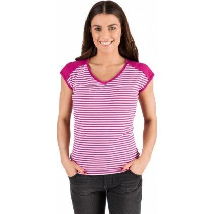 Dámské triko SAM 73 s krátkým rukávem růžové