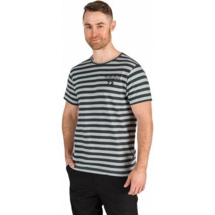 Pánské triko SAM 73 s krátkým rukávem šedé