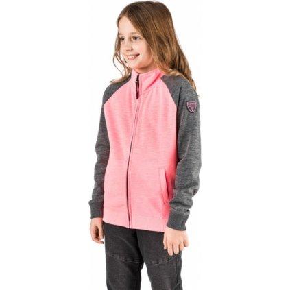 Dívčí mikina SAM 73 růžová
