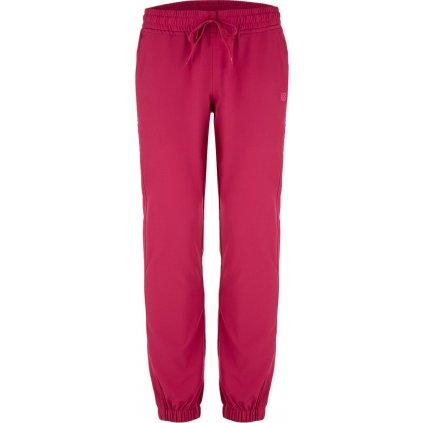 Dámské softshellové kalhoty LOAP Ursiana růžové