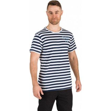 Pánské triko SAM 73 s krátkým rukávem bílé