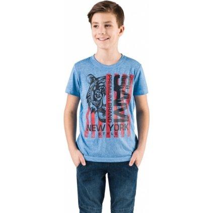 Chlapecké triko SAM 73 s krátkým rukávem modré