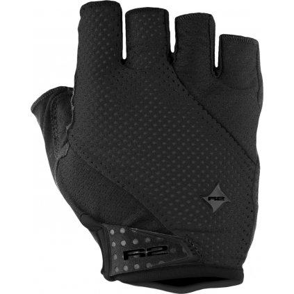Cyklistické rukavice R2 Ribbon černé