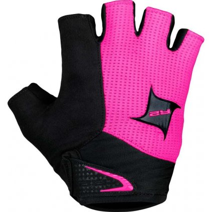 Cyklistické rukavice R2 Juli růžové