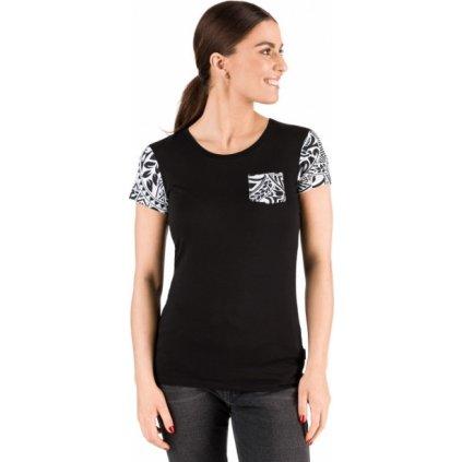 Dámské triko SAM 73 s krátkým rukávem černé