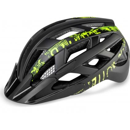 Cyklistická helma R2 Lumen černá