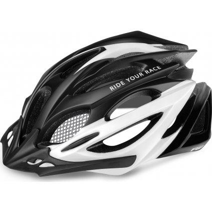 Cyklistická helma R2 Pro-Tec černá