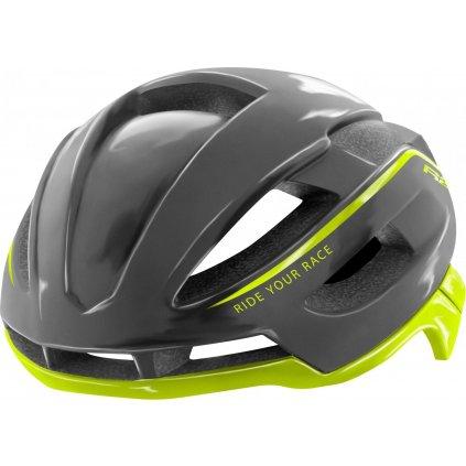 Cyklistická helma R2 Aero šedá