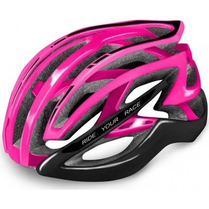 Cyklistická helma R2 Evolution růžová