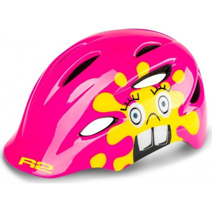 Dětská cyklistická helma R2 Ducky růžová