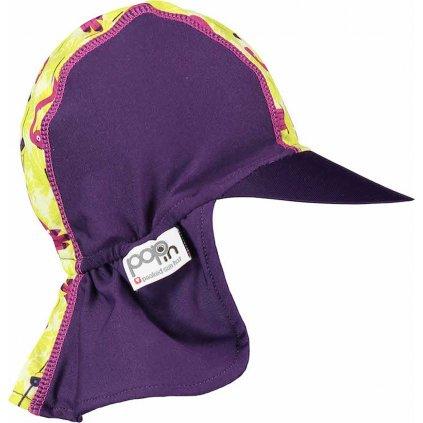 Dětská kšiltovka UNUO POP-IN UV  Plameňáci