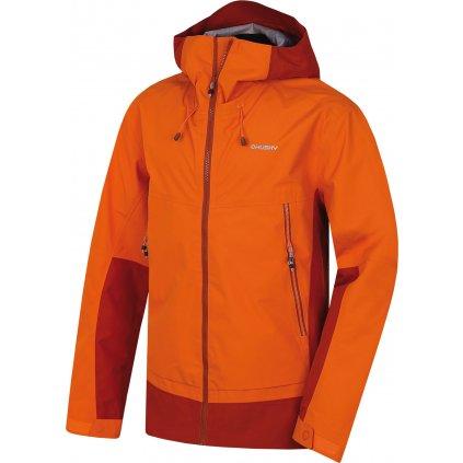 Pánská hardshellová bunda HUSKY Nanook M oranžová