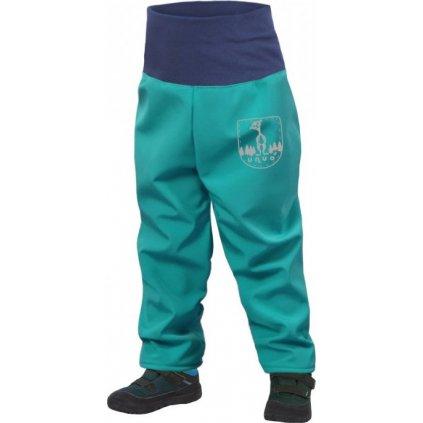 Batolecí softshellové kalhoty s fleecem UNUO