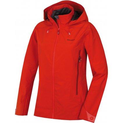 Dámská outdoorová bunda HUSKY Nakron L červená