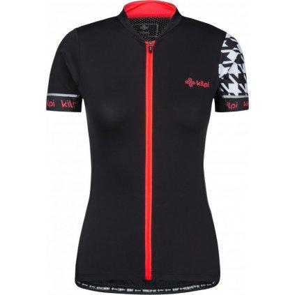 Dámský cyklistický dres KILPI Oreti-w černý