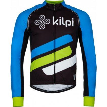 Pánský cyklistický dres KILPI Palm-m modrý