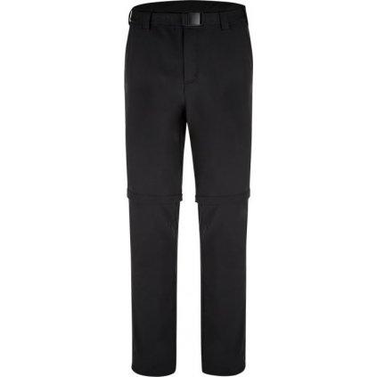 Pánské softshellové odepínací kalhoty LOAP Urus černé