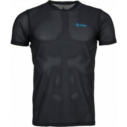 Pánské lehké tričko KILPI Cooler-m s krátkým rukávem černé