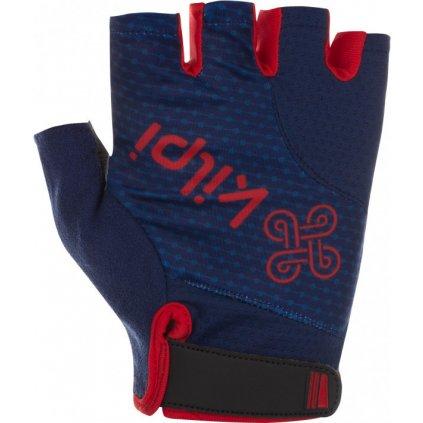 Cyklistické rukavice KILPI Geleni-u tmavě modré