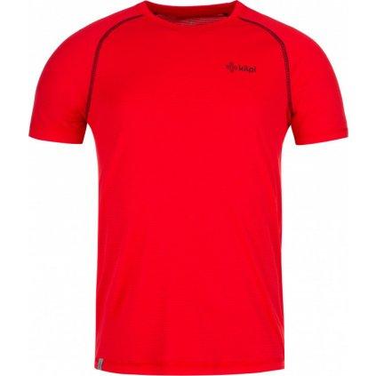 Pánské funkční tričko KILPI Border-m s krátkým rukávem červené