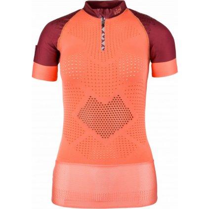 Dámské funkční tričko KILPI Combo-w s krátkým rukávem světle červené