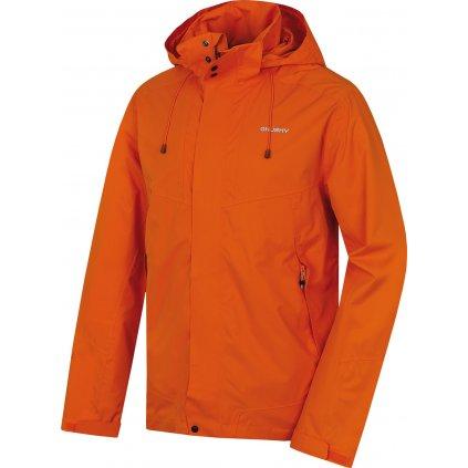 Pánská hardshellová bunda HUSKY Nutty M oranžová
