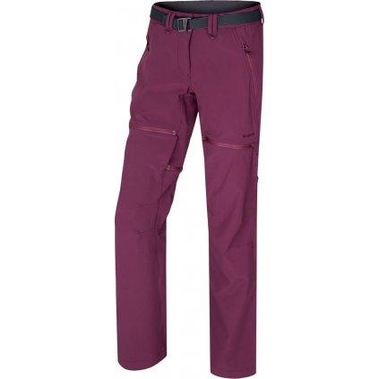 Dámské outdoor kalhoty HUSKY Pilon L vínová