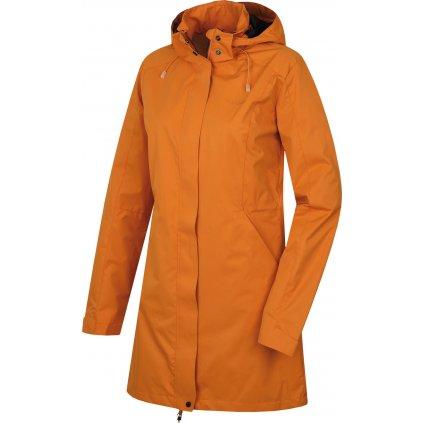 Dámský hardshellový kabát HUSKY Nut L tl. oranžová