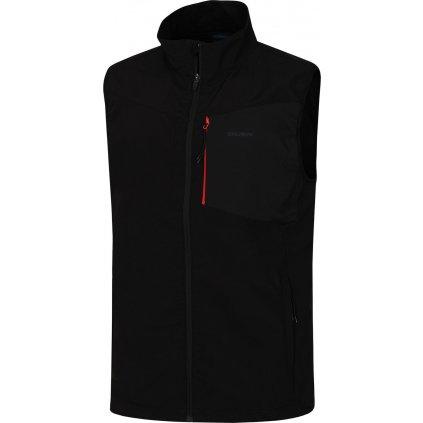 Pánská softshellová vesta HUSKY Salien M černá
