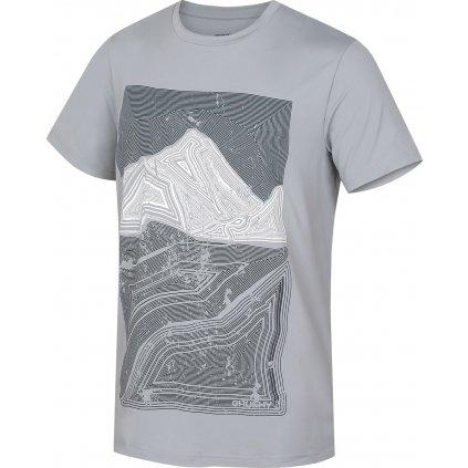 Pánské triko HUSKY  Tash M sv. šedá